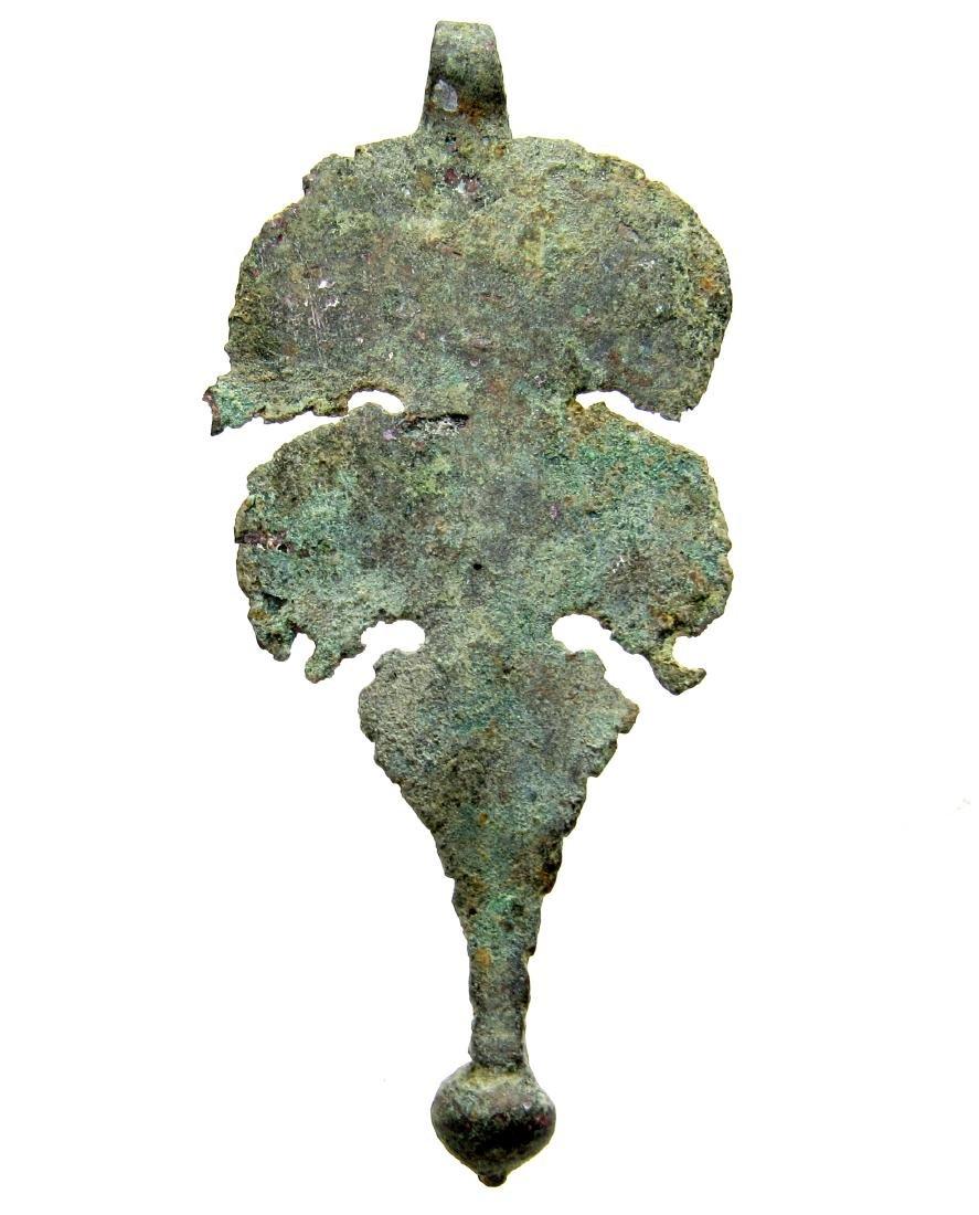 Roman Cavalry Bronze Pendant - 3
