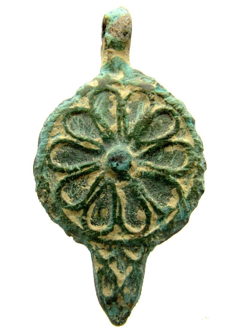 Roman Pendant with Floral Motif