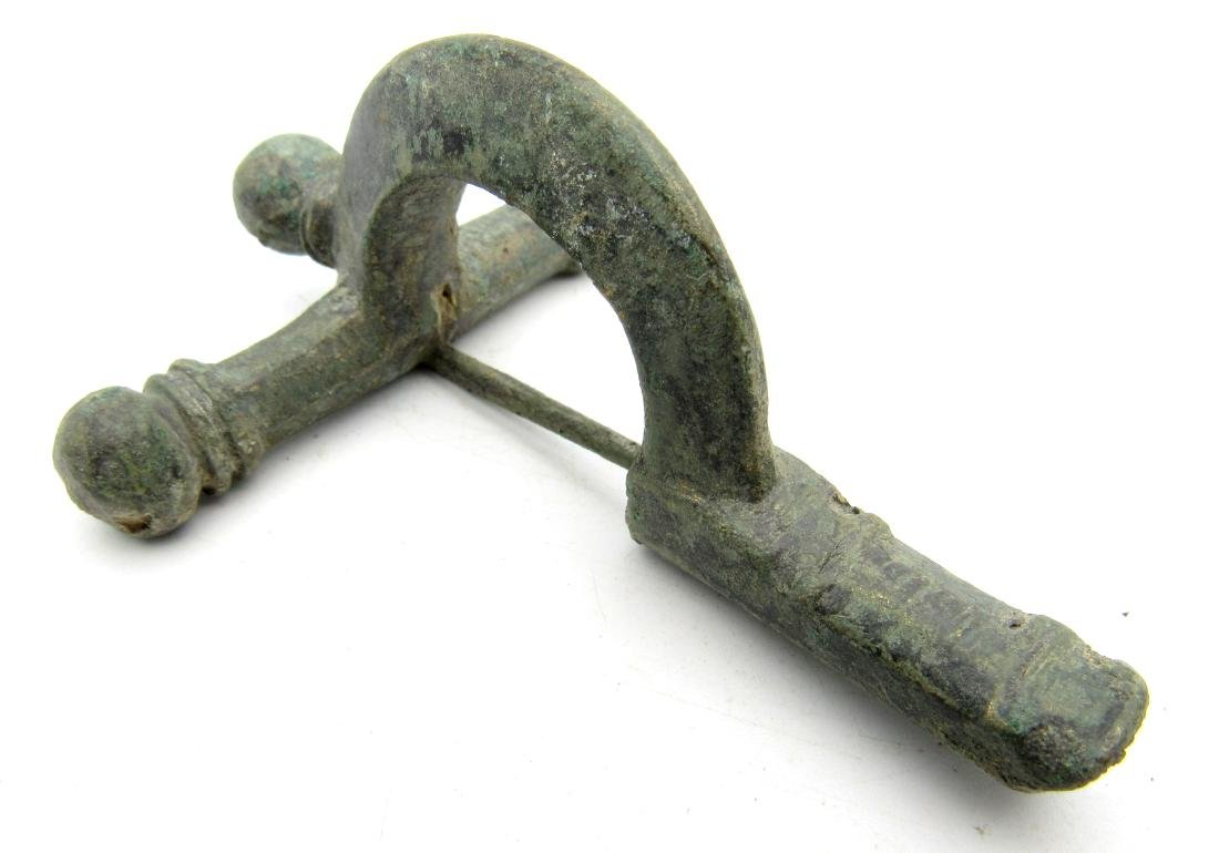 Roman Legionary Crossbow Type Brooch / Fibula - 3