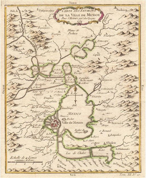 Bellin: Antique Map of Mexico City Region, 1754 on a map of tamaulipas, a map of budapest, a map of montevideo, a map of popocatepetl, a map of nassau, a map of the holy land, a map of rio de janeiro, a map of algiers, a map of los cabos, a map of the southwest, a map of milan, a map of harare, a map of zona rosa, a map of sinaloa, a map of portland, a map of latin america, a map of roatan, a map of caracas, a map of everglades national park, a map of havana,