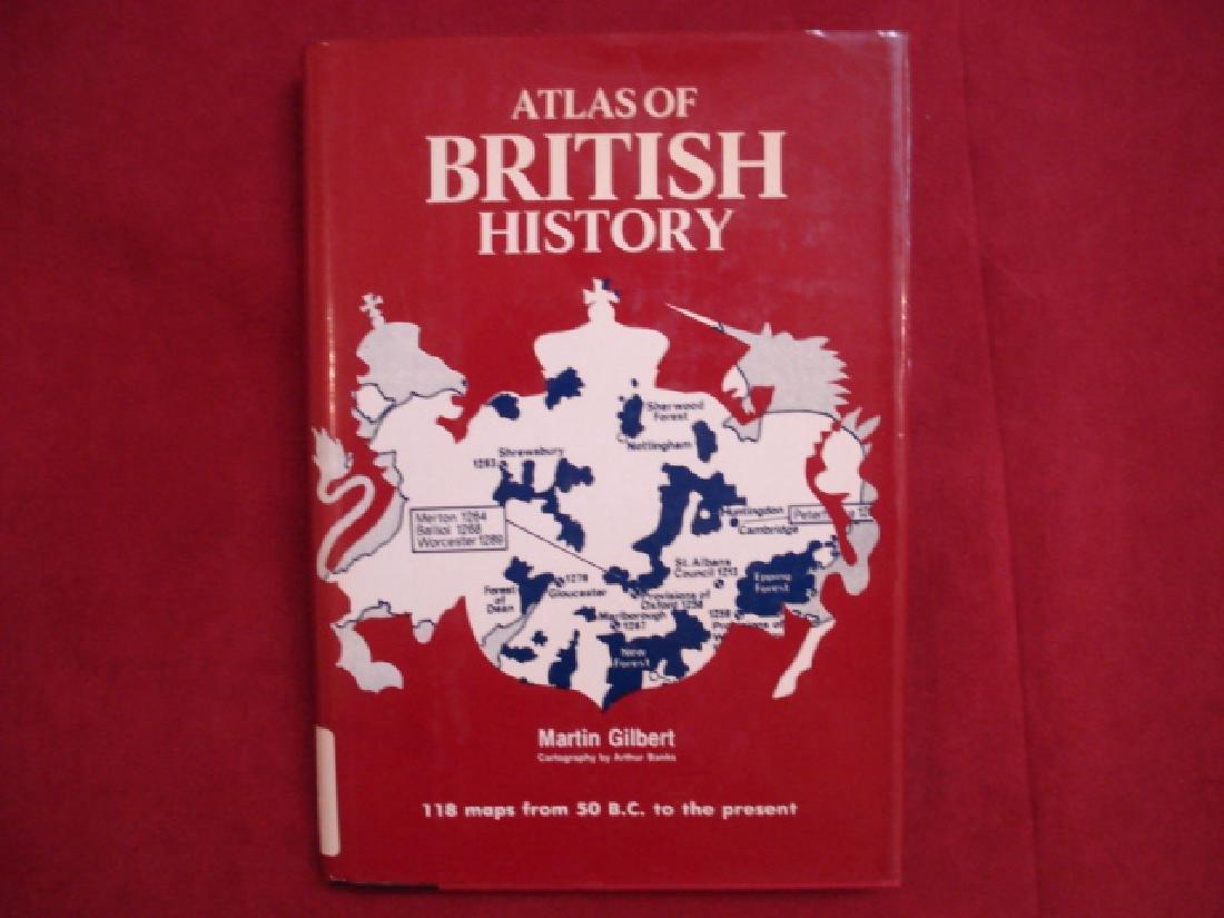 Atlas of British History, 1st Ed