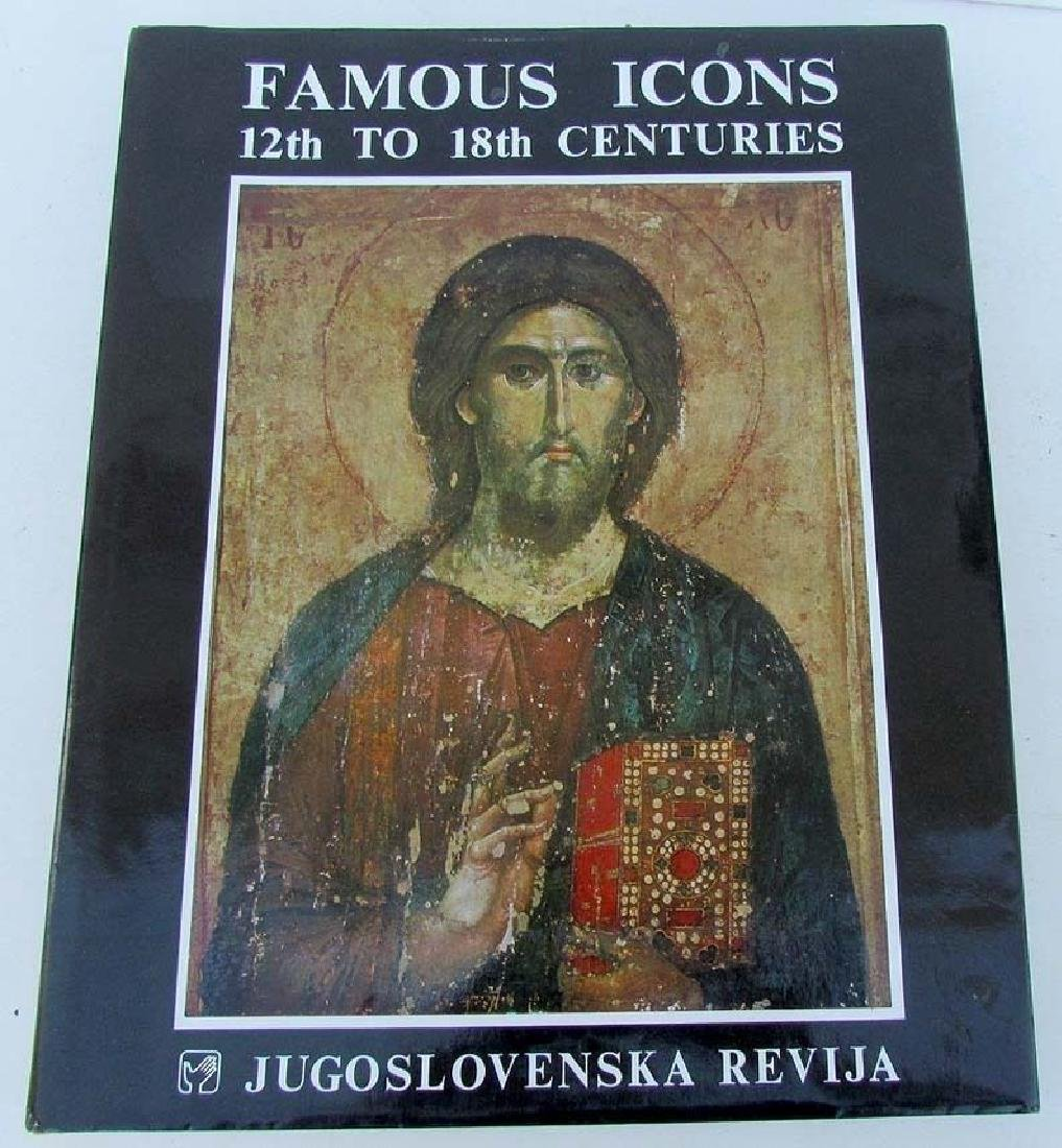 Famous Icons 12th-18th Centuries Reference Book