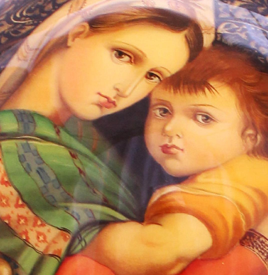Acharasov Russian Religious Egg Madonna - 4