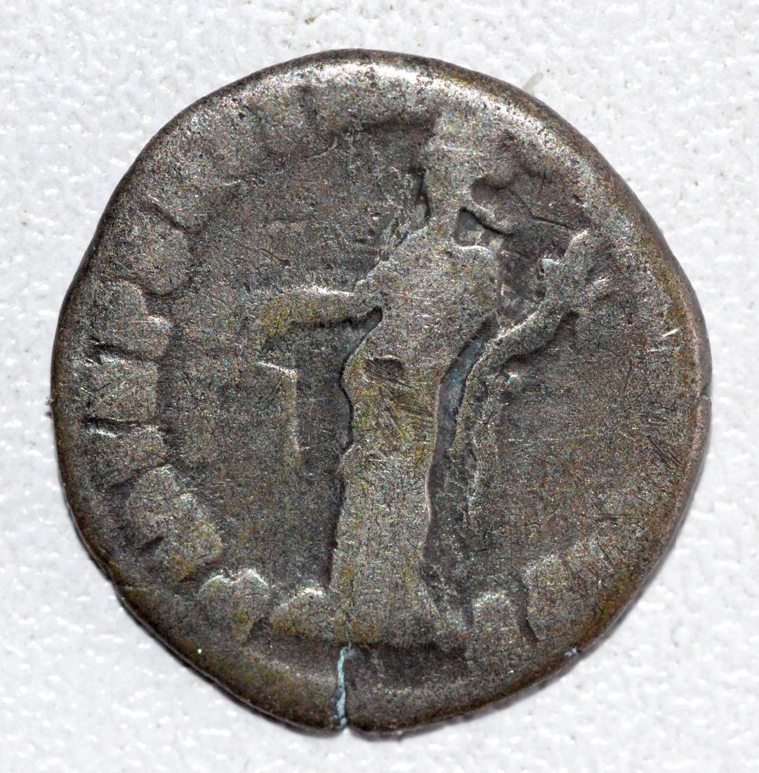 Ancient Roman Silver Denarius of Emperor Commodus - 2