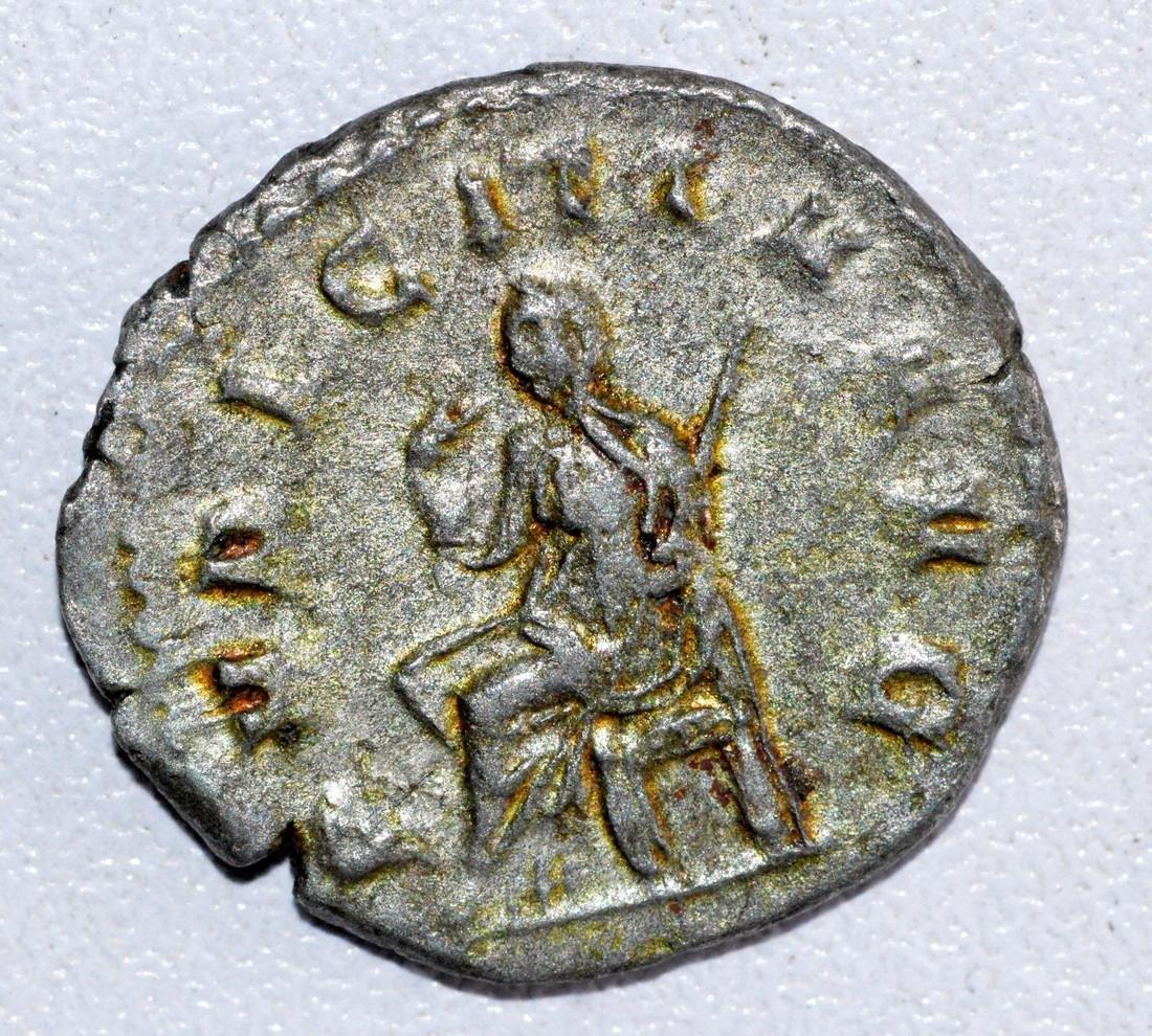 Ancient Roman Antoninianus of Empress- Herennia Etrusci - 2