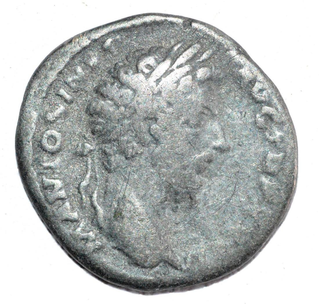 Ancient Roman Silver Denarius of MARCUS AURELIUS, rv.