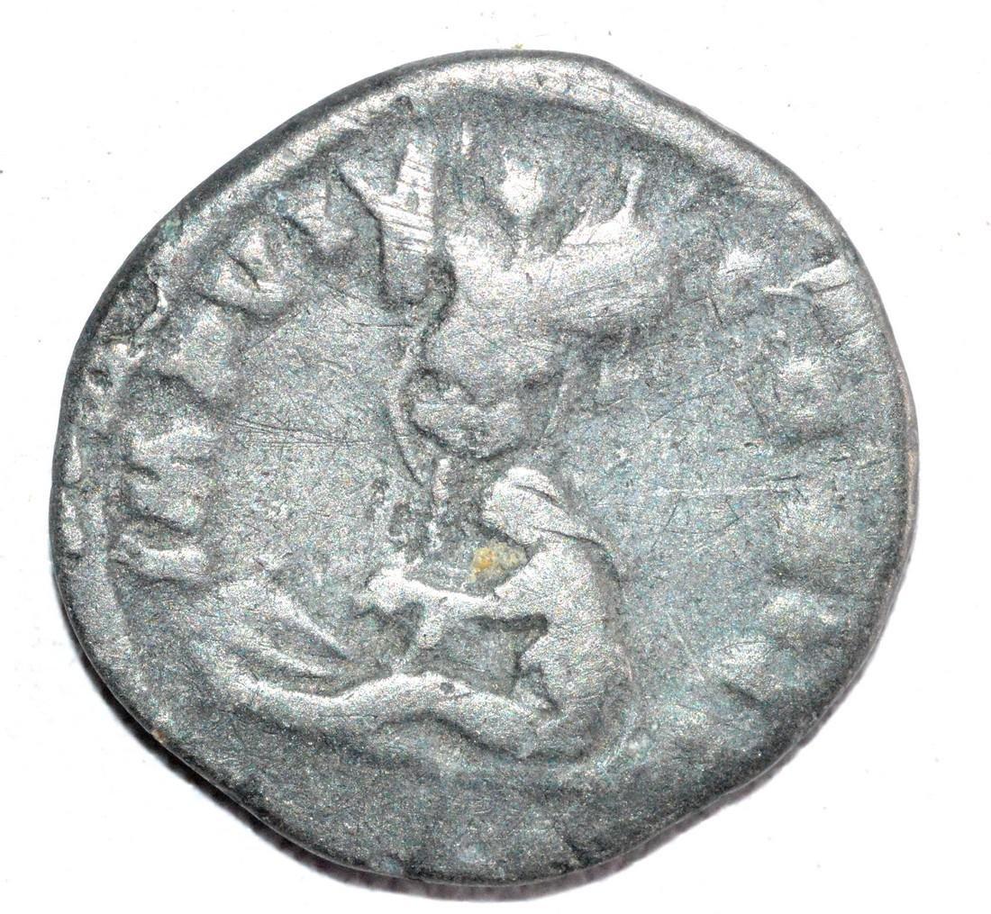 Ancient Roman Silver Denarius of MARCUS AURELIUS, rv. - 2