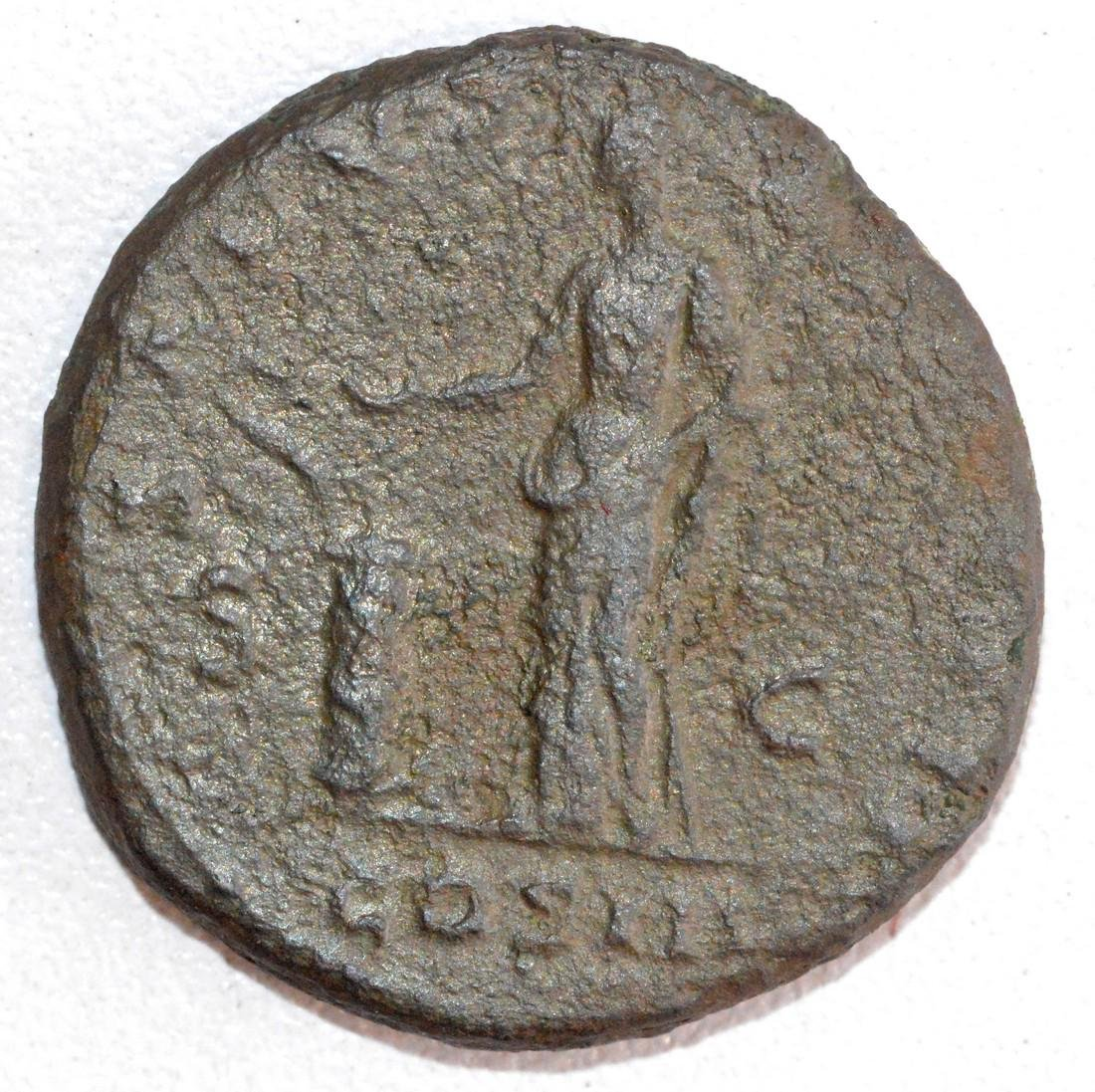 Ancient Roman Copper As of Emperor Hadrian, rv. - 2