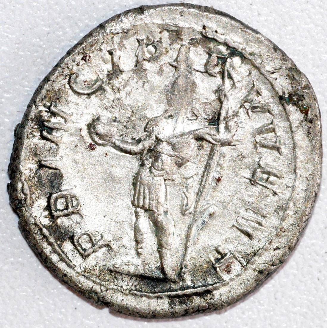 Ancient Roman Silver Antoninianus of Philip I - 2