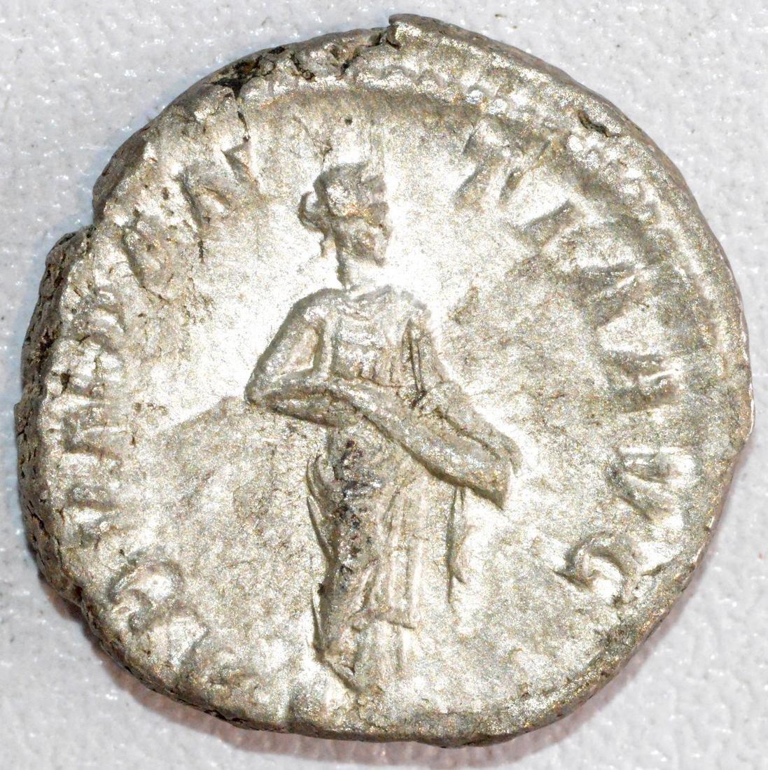 Ancient Roman Silver Denarius of Emperor Alexander - 2