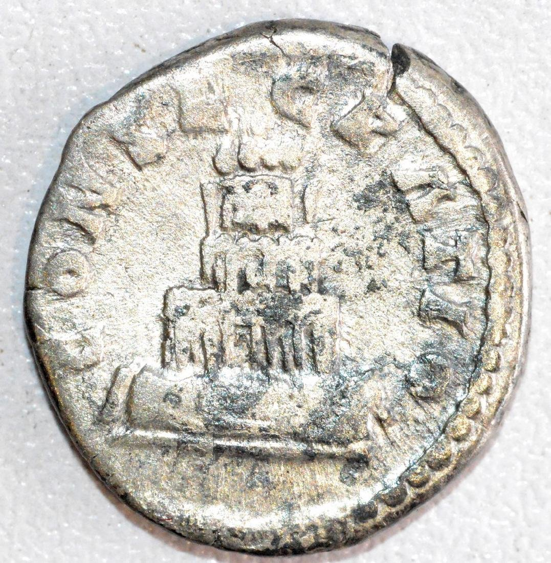 Ancient Roman Silver Denarius of Emperor Antoninus - 2