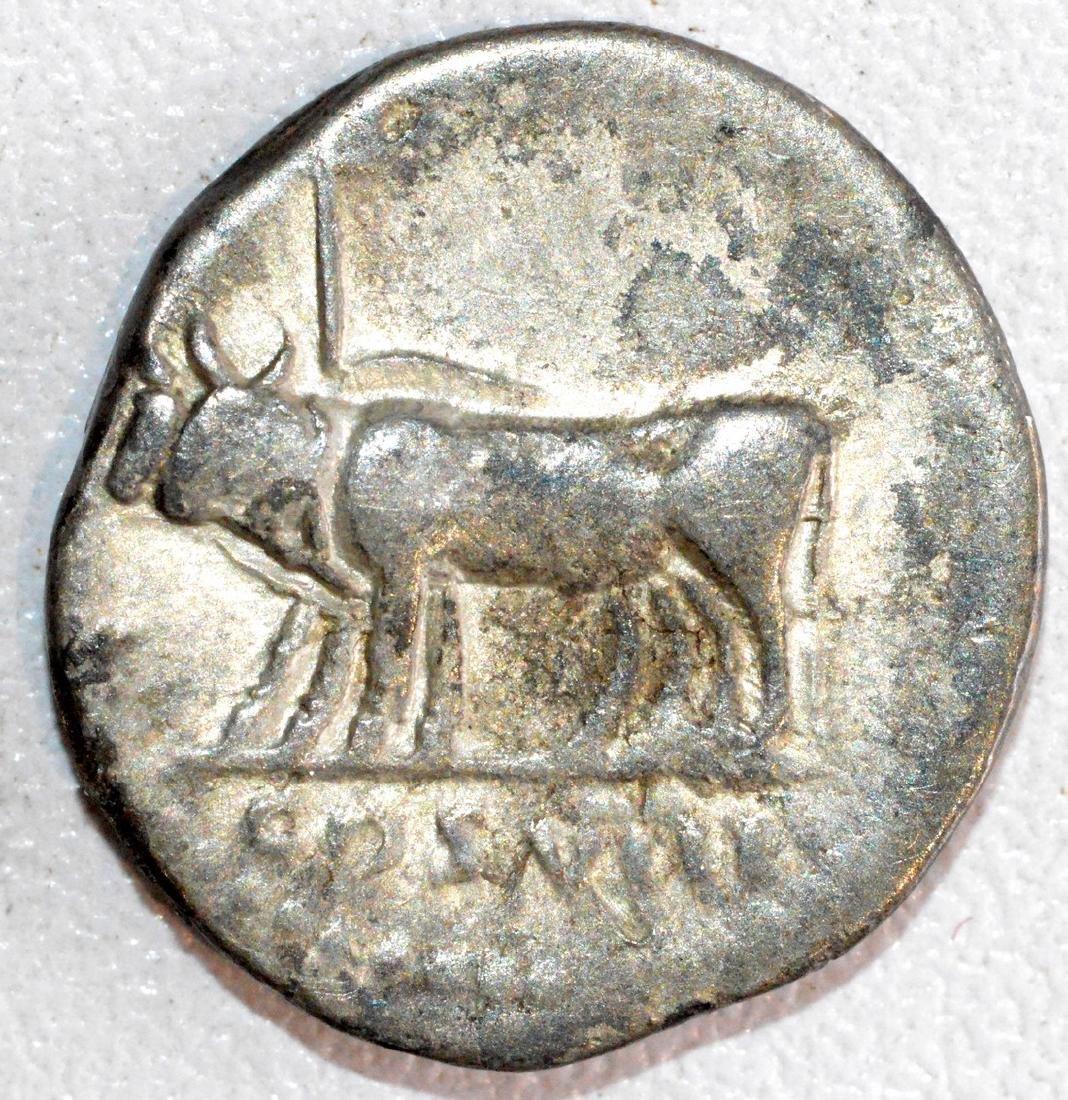 RARE Roman Silver Denarius of Emperor Vespasian, Rv. - 2