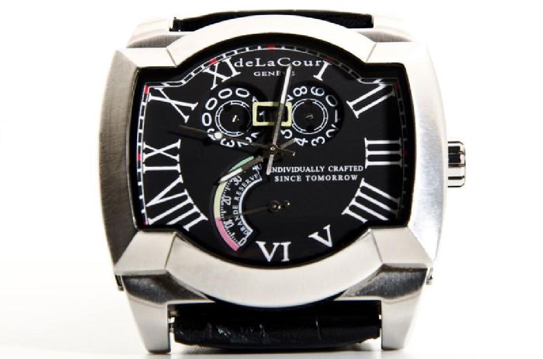 DeLaCour Rectangular Limited Edition Watch
