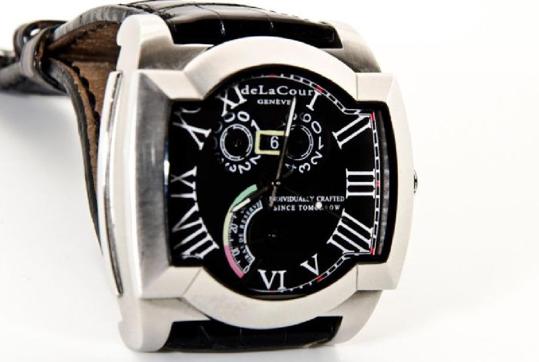 DeLaCour Rectangular Limited Edition Watch - 4