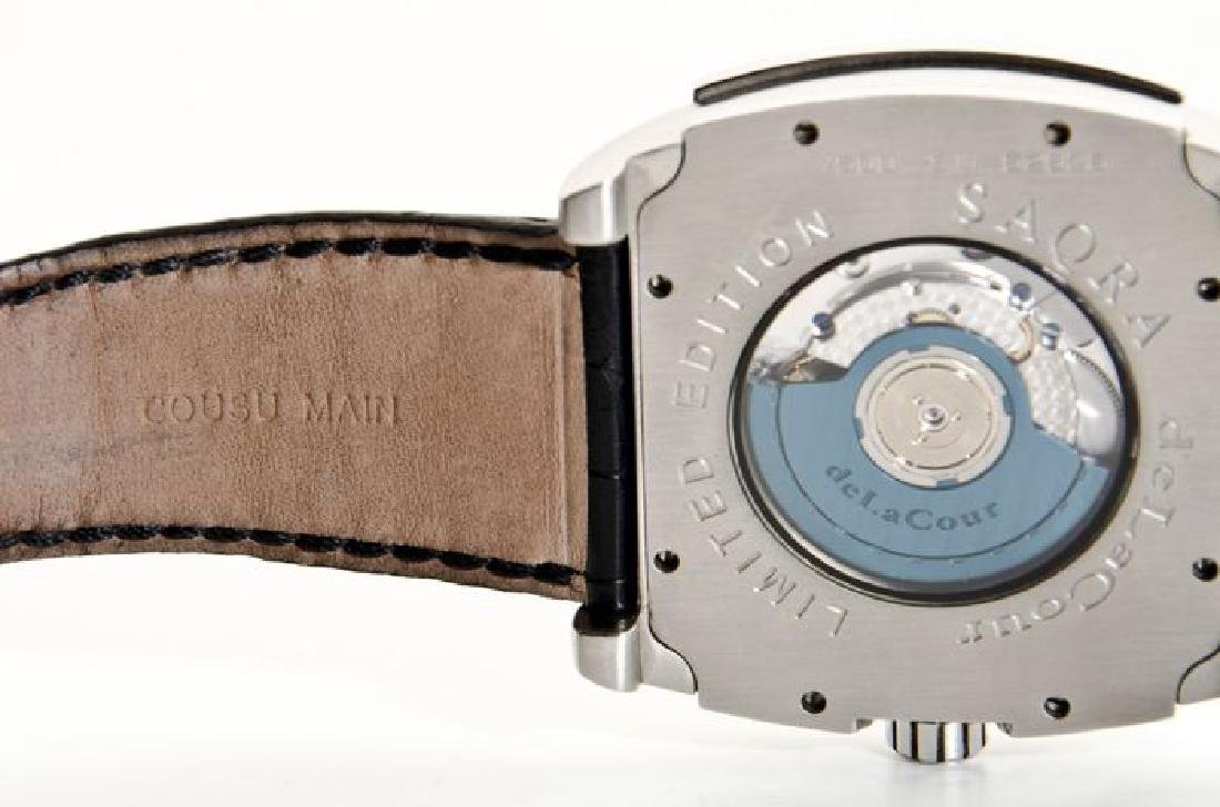 DeLaCour Rectangular Limited Edition Watch - 6