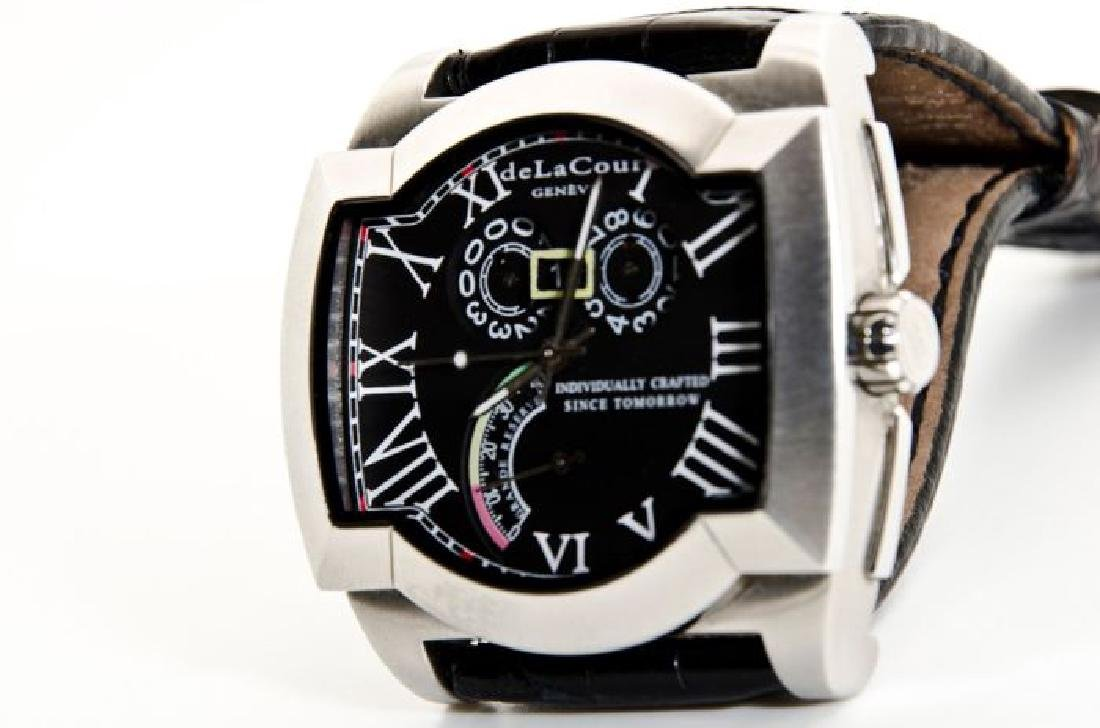 DeLaCour Rectangular Limited Edition Watch - 8