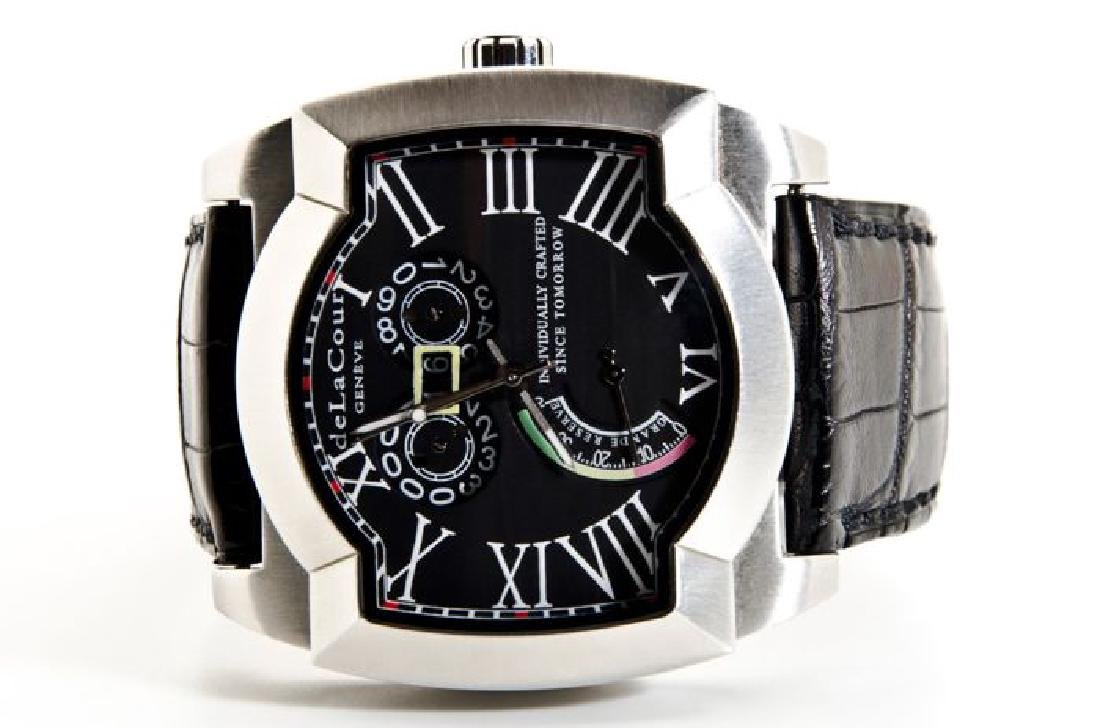 DeLaCour Rectangular Limited Edition Watch - 9