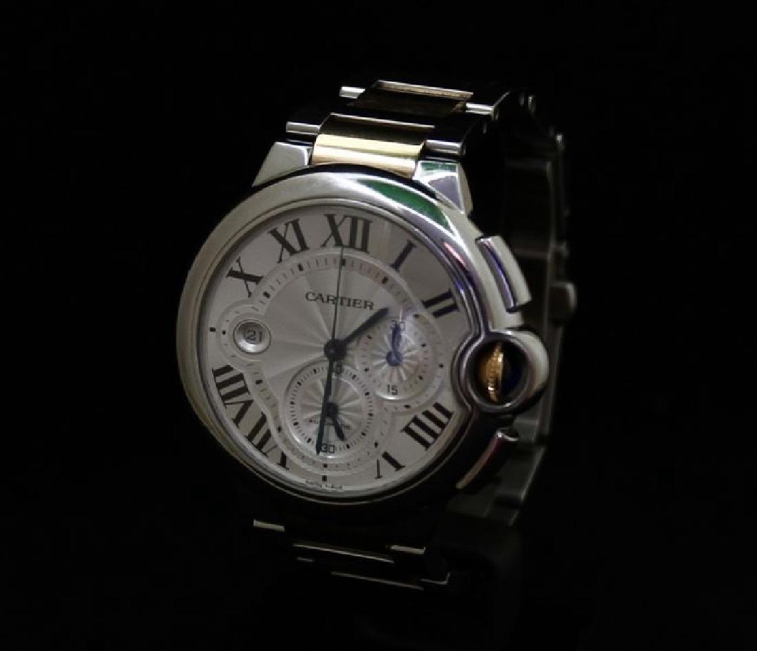 Cartier Ballon Bleu Chronograph Watch - 10