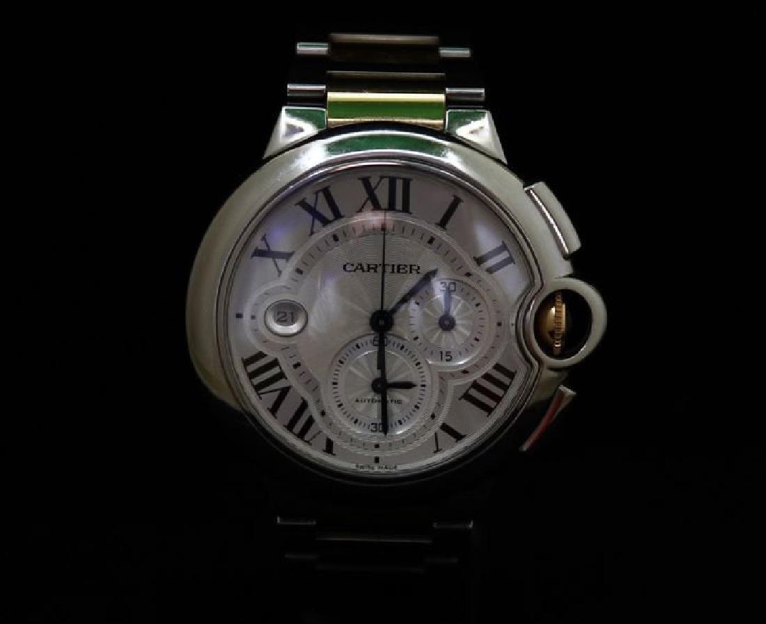 Cartier Ballon Bleu Chronograph Watch - 9