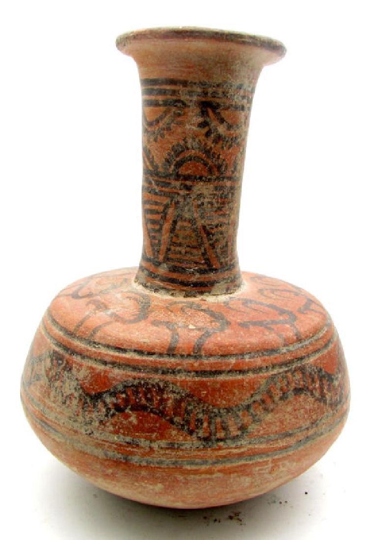 Indus Valley Painted Terracotta Jug depicting Antelope
