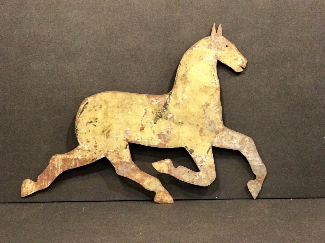 Running Horse Barn Ornament, 1900