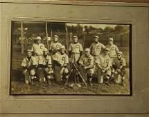 C Baseball Team Photograph 1915