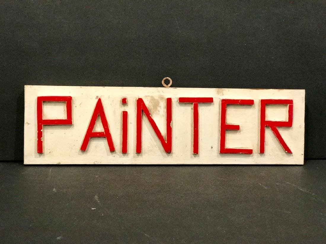 Painter Sign, 1940
