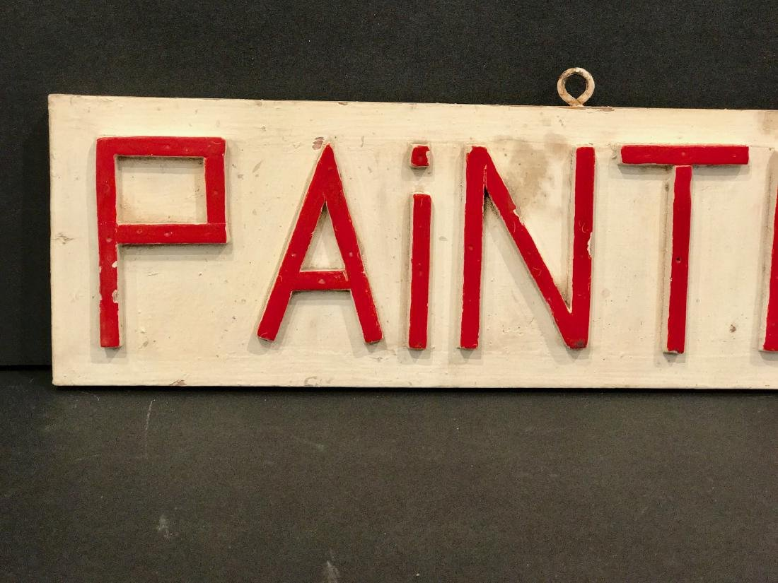 Painter Sign, 1940 - 2