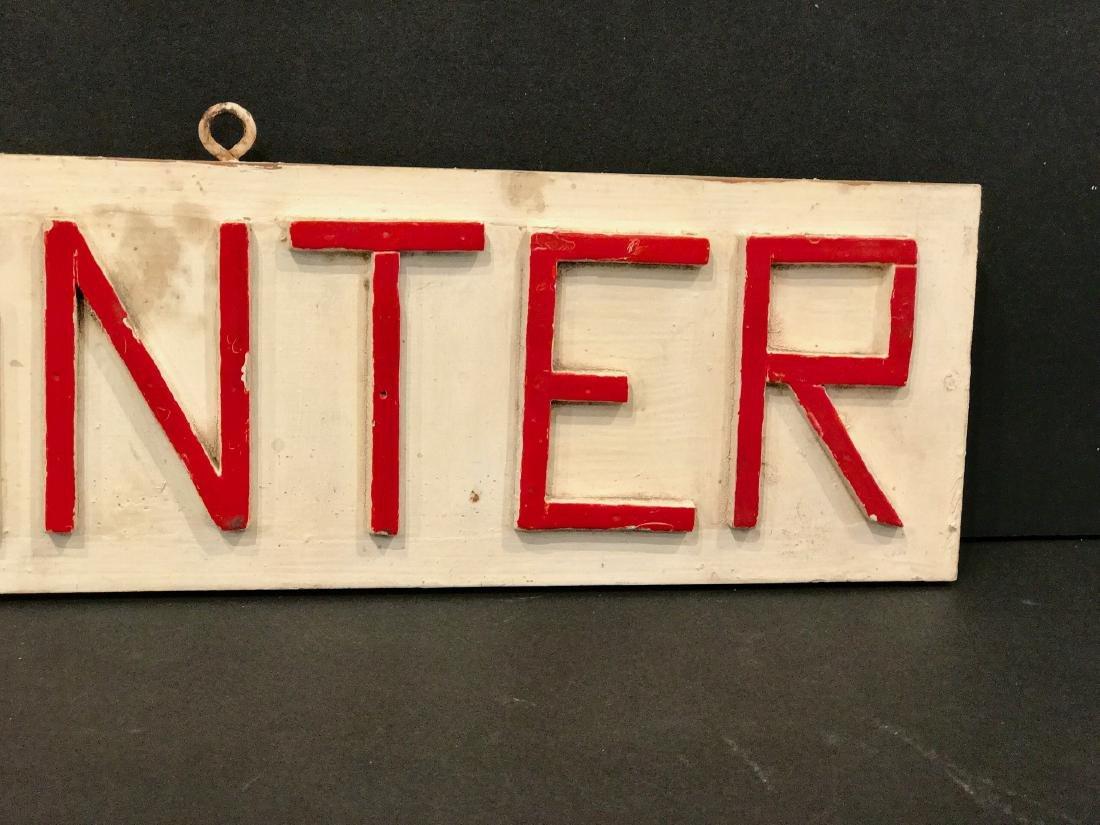 Painter Sign, 1940 - 3