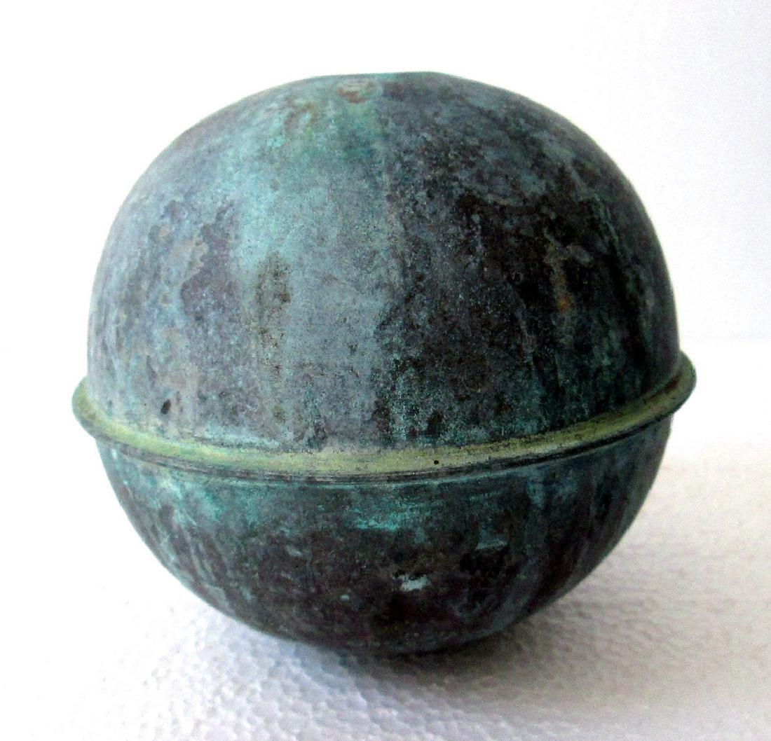 Large Copper Weathervane Ball