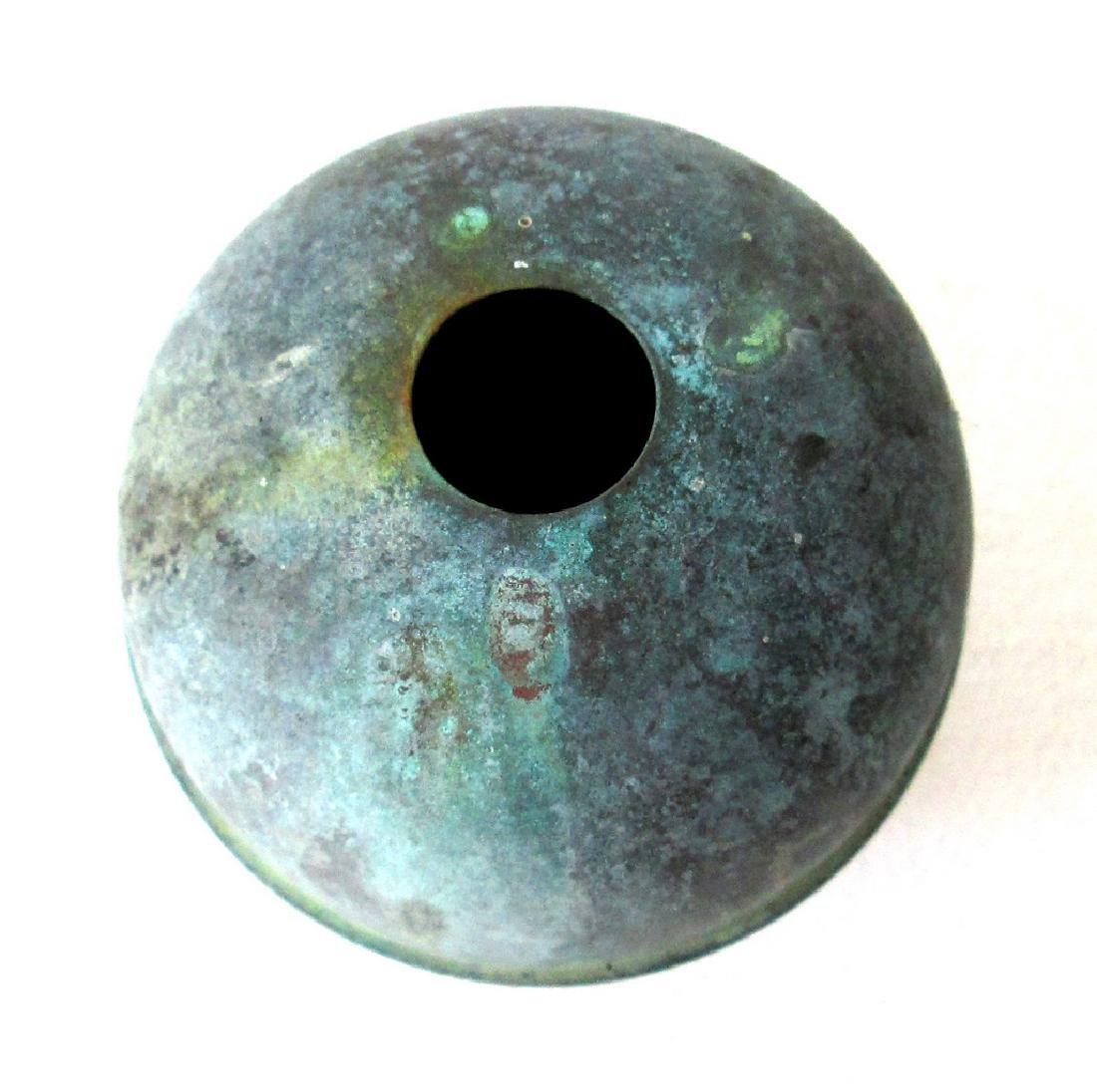 Large Copper Weathervane Ball - 2