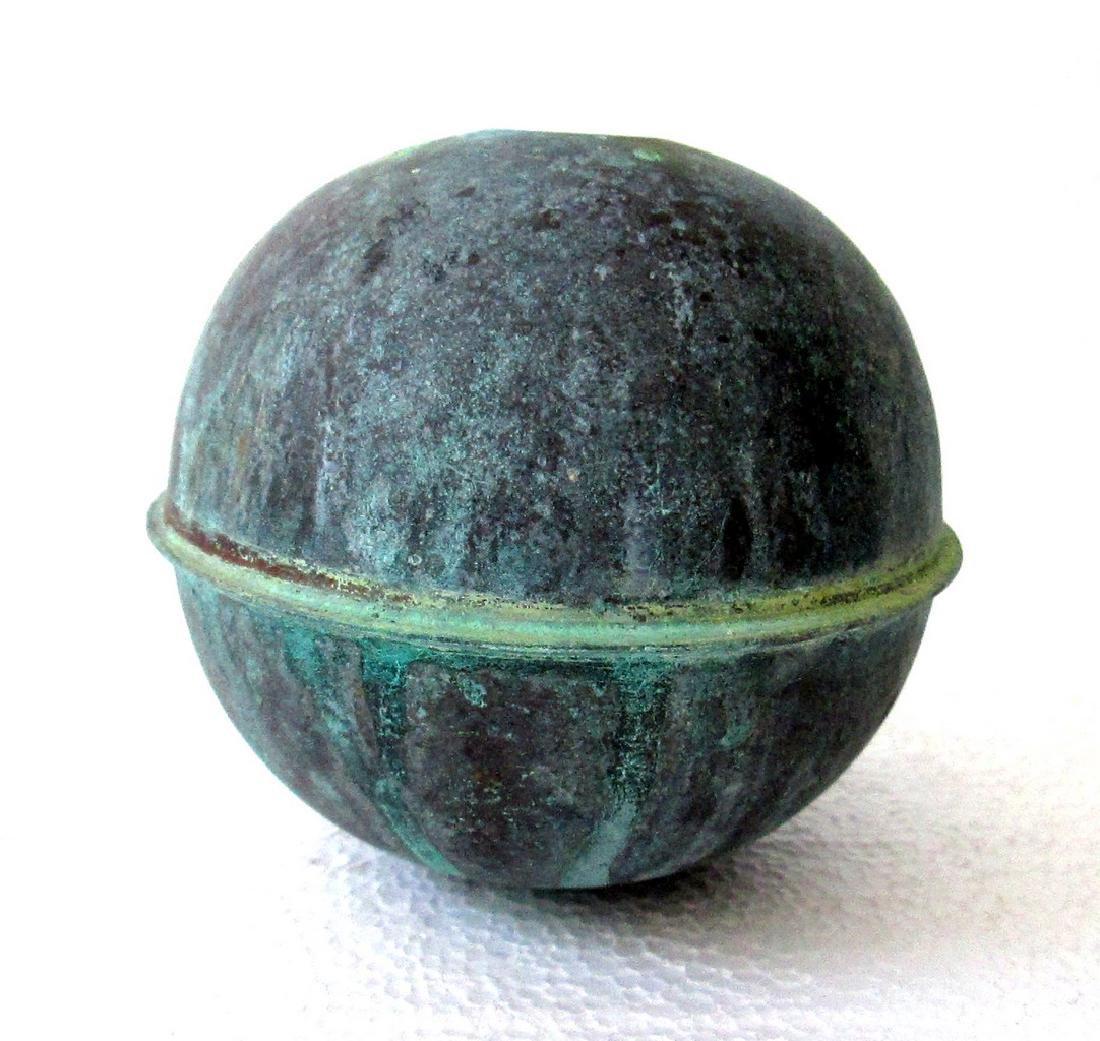 Large Copper Weathervane Ball - 3