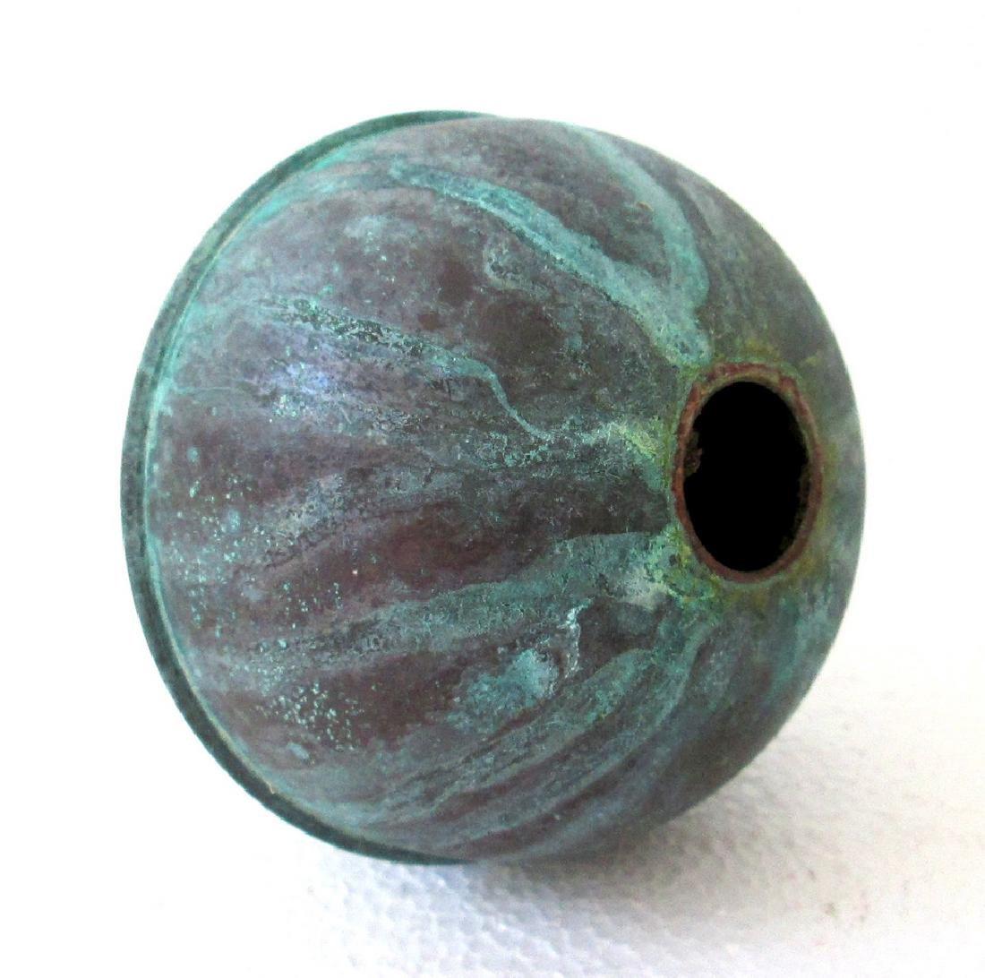 Large Copper Weathervane Ball - 4