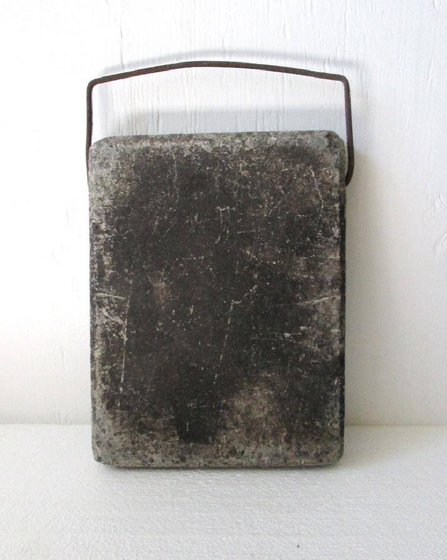 Early Granite Footwarmer