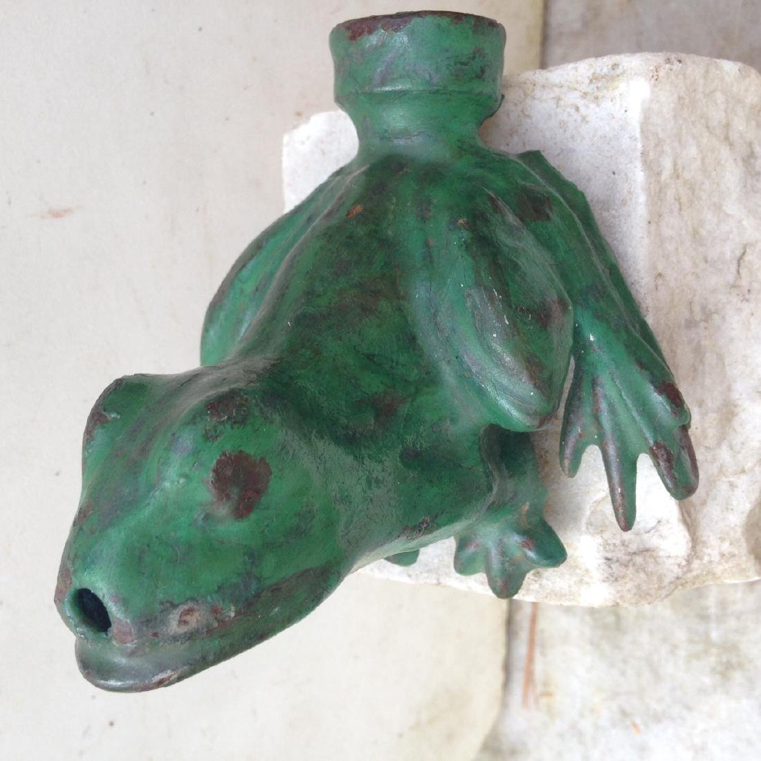 Cast Iron Frog Sprinkler - 2