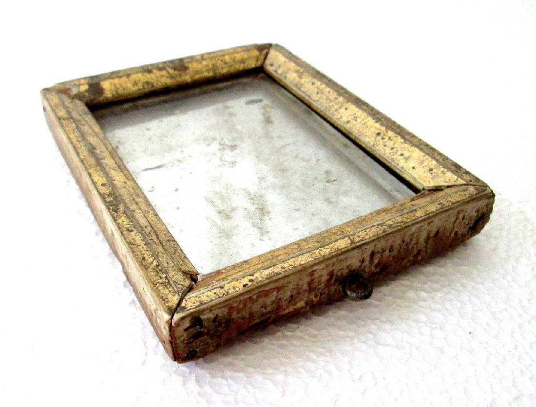 Early Miniature Mirror - 5