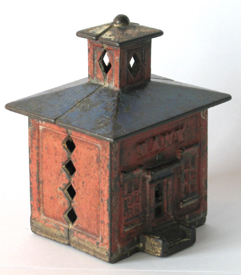 Vintage Cupula Building Bank - 2