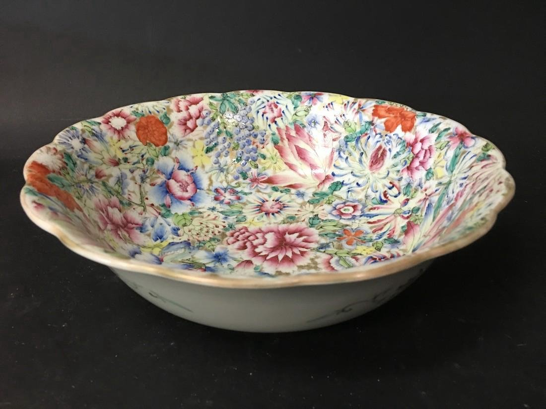 Chinese Qing Period Porcelain Bowl
