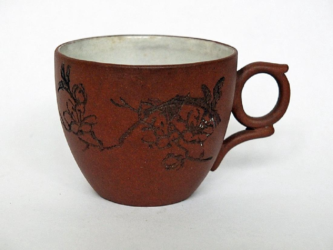 Chinese Yixing Teacup by Master of Tehua Xuan