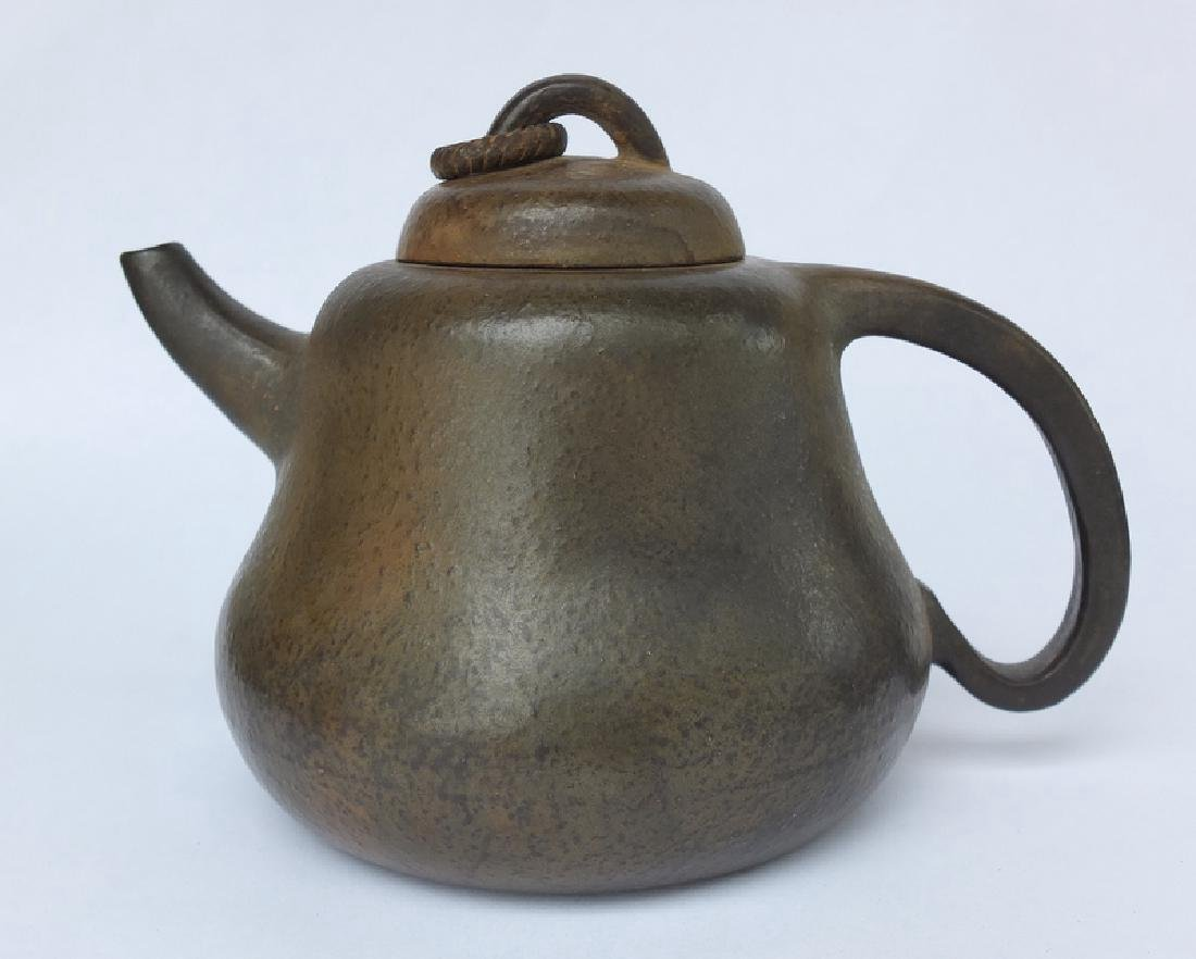 Chinese Teapot in the Style of Chen Mansheng