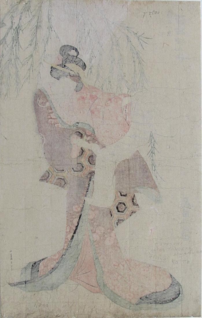 Utagawa Toyokuni I Woodblock Sawamura Tanosuke - 2