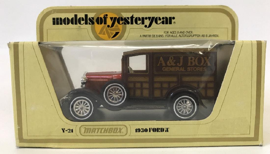 MATCHBOX LESNEY Models of Yesteryear 1930 Ford Model A