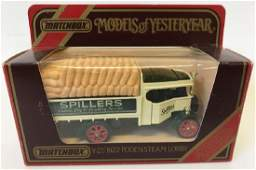 MATCHBOX LESNEY Models of Yesteryear 1922 Foden Steam