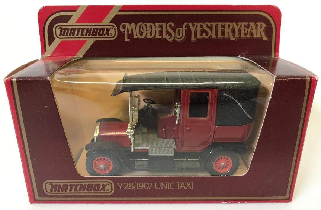 Vintage MATCHBOX LESNEY Models of Yesteryear 1907 Taxi