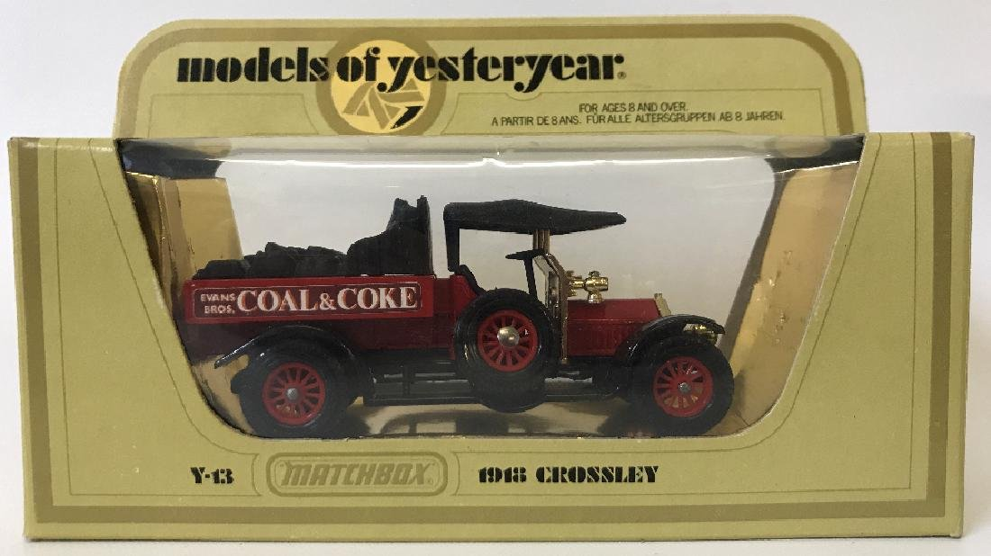 Vintage MATCHBOX LESNEY Models Yesteryear 1918 Crossley