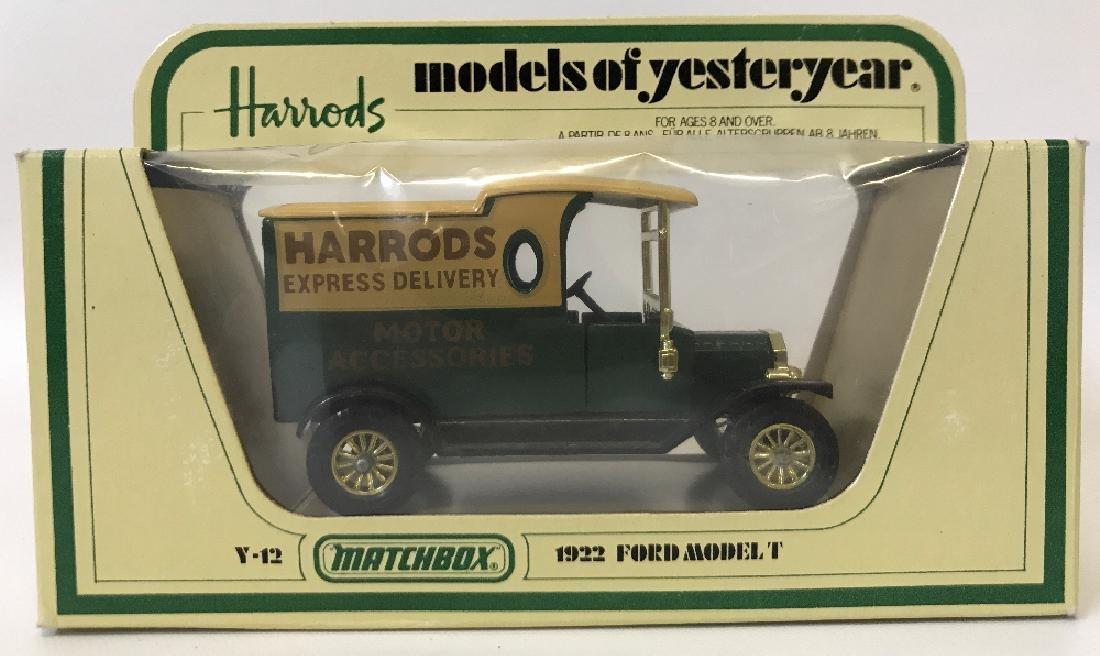 Vintage MATCHBOX LESNEY Models of Yesteryear 1922 Ford