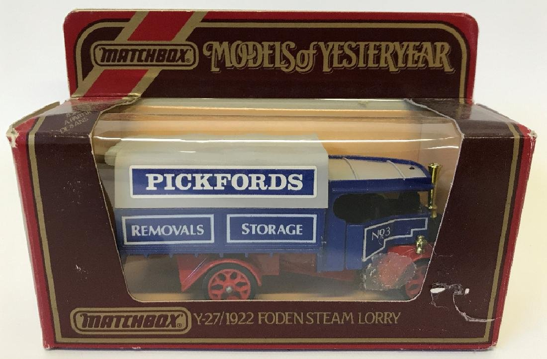 MATCHBOX LESNEY Models of Yesteryear 1922 Foden Steam