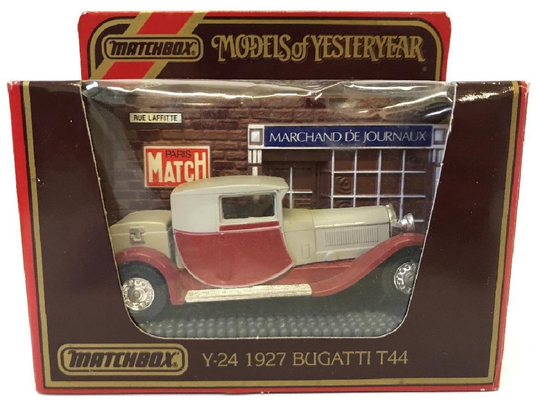 Vintage MATCHBOX LESNEY Models Yesteryear 1927 Bugatti