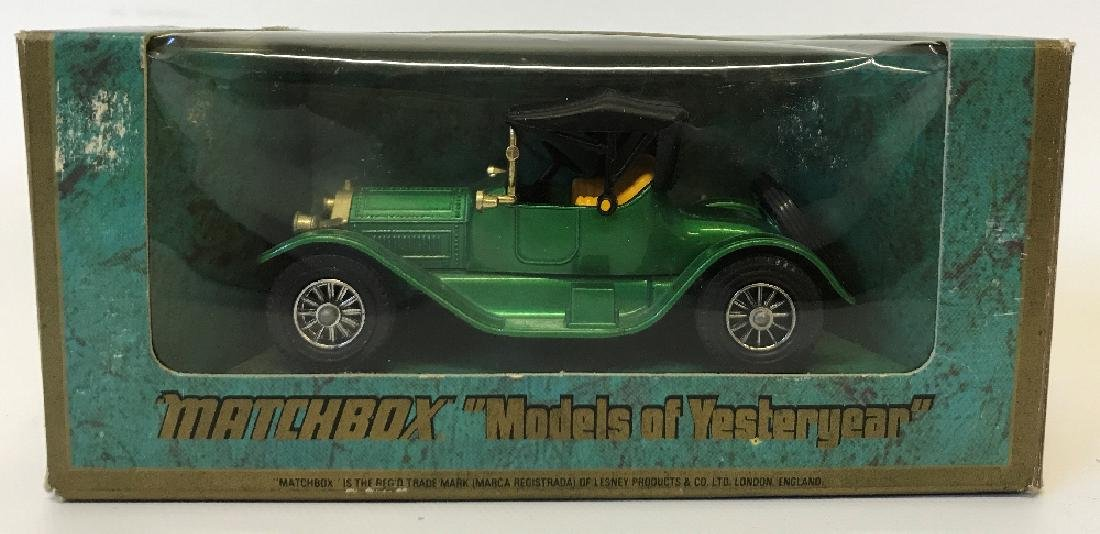 Vintage MATCHBOX LESNEY Model Yesteryear 1913 Cadillac