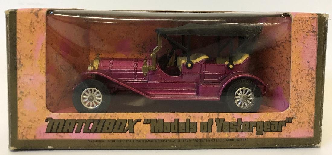 Vintage MATCHBOX LESNEY Model of Yesteryear 1909 Thomas